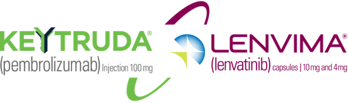 KEYTRUDA® (pembrolizumab) for Injection 100 mg and LENVIMA® (lenvatinib) Capsules 10 mg and 4 mg